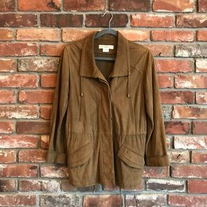 Gerard Darel Suede Leather Jacket